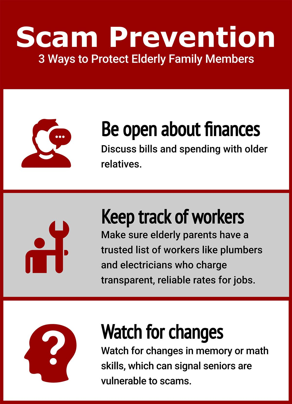 prevent senior scam tips graphic by USC