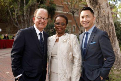 Academic honors: USC President Nikias, Wanda Austin and Viet Nguyen