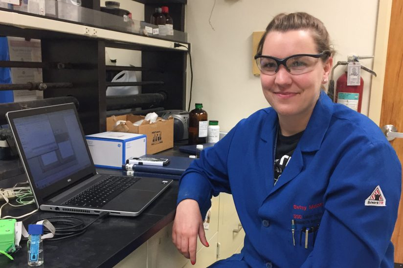 Betsy Melenbrink, who builds low-cost science kits