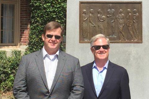 Long-lost brothers Jeff Adams and Brandon Blaylock