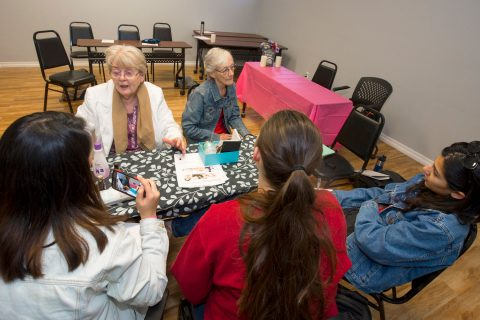 Designing for seniors: Brittingham design class visits seniors