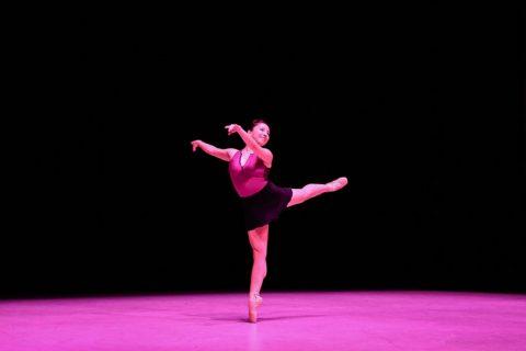 Megan Yamashita onstage Kaufman spring concert