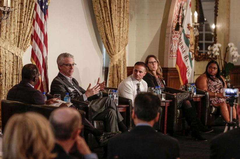 panel from USC Ending Homelessness summit