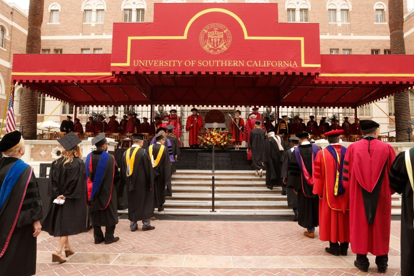2018 USC honorary degree recipients: Commencement ceremony at USC