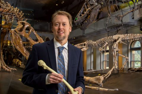 Kristian Carlson paleontology and medicine