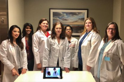 Lung transplant recovery: Medical team