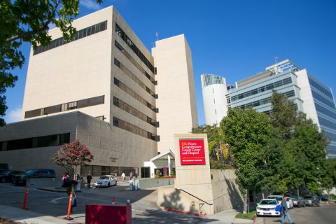USC Norris Comprehensive Cancer Center building