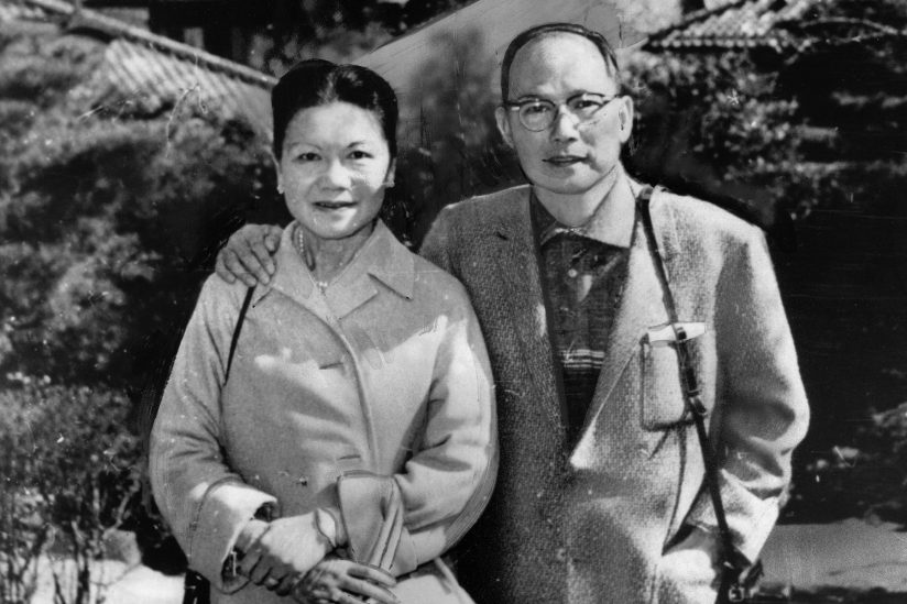 Albert and Lily Quon, funders of scholarships for international students