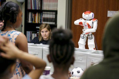 Nao robot usc open house robotics