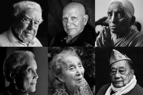 portraits from Quiet Heroes exhibit