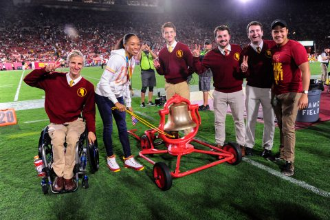 Zach Wentz USC disabilities advocate and Trojan Knights