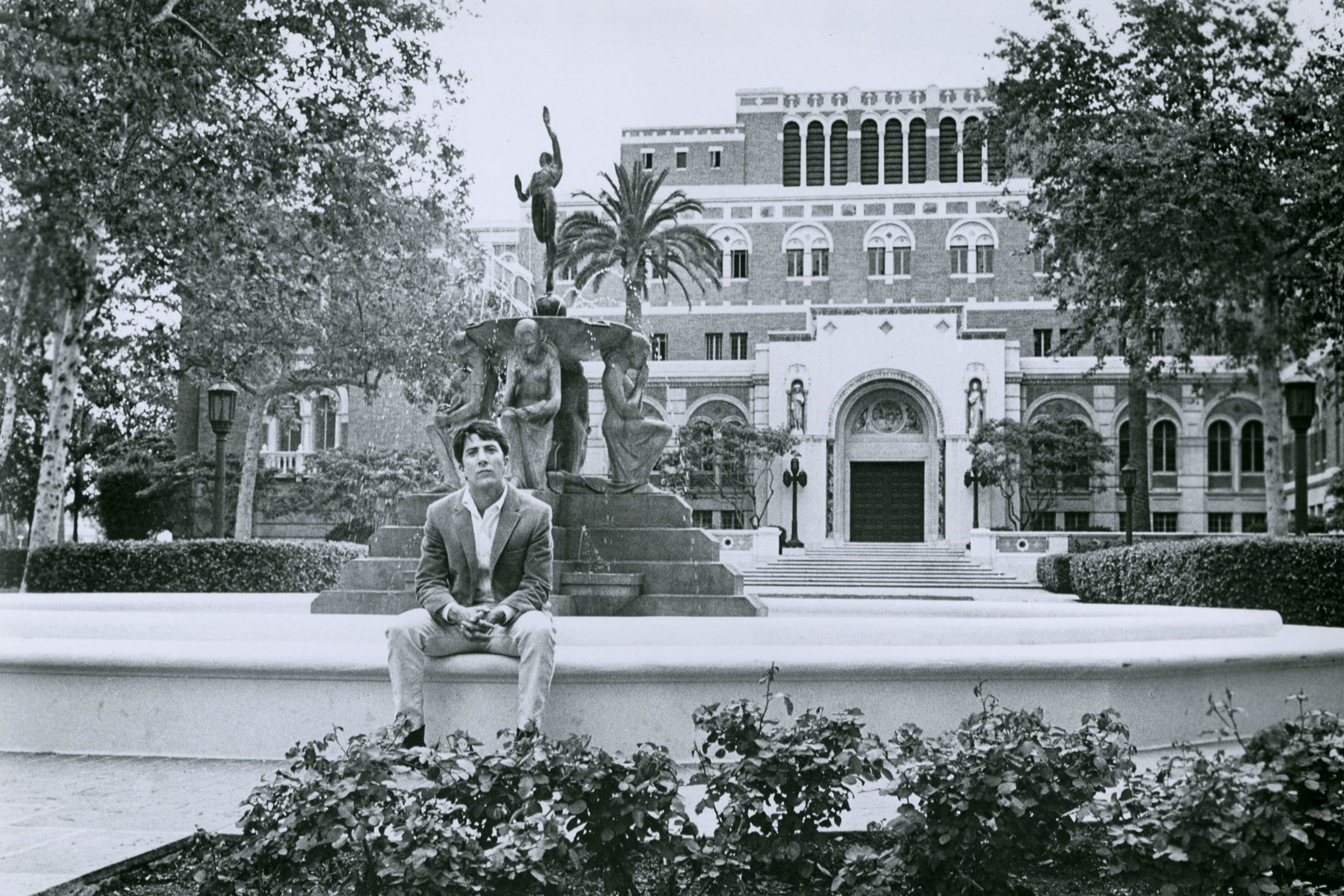 Dustin Hoffman Doheny Library
