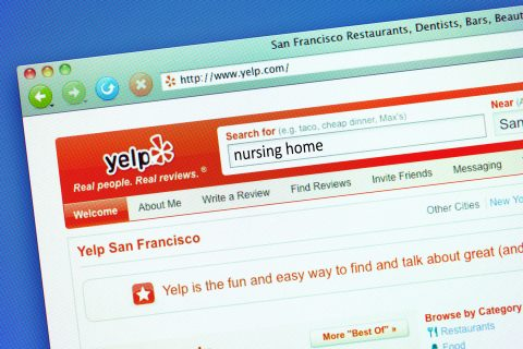 yelp search for nursing homes