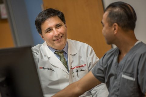 USC Institute for Biomedical Therapeutics: Mark Humayun talks to staff
