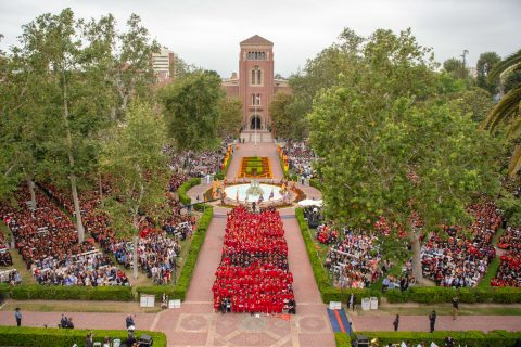 USC 2018 commencement photos