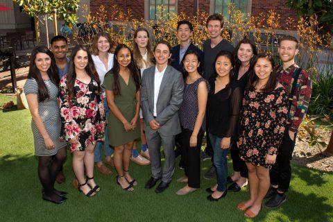 Bennis Scholars 2018 group photo