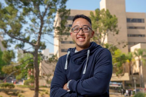 Brandon Hsu, USC physical therapy grad, portrait