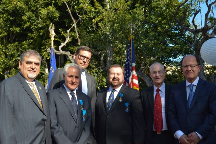 USC professors obtain France's National Order of Merit