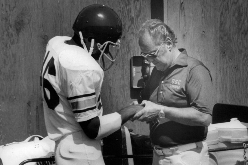USC trainer Jack Ward