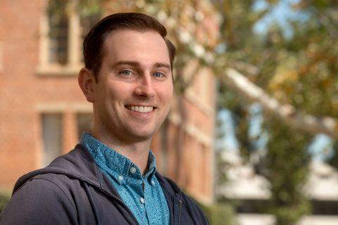 Jeremy Fricke, USC military veteran