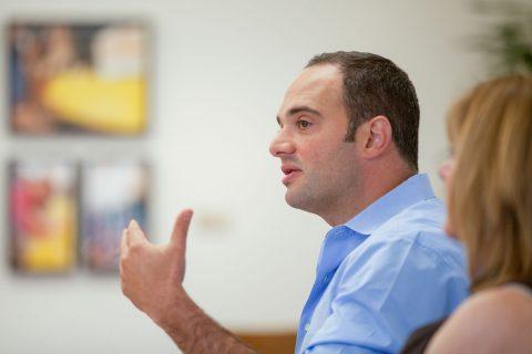 Mexico presidential debate moderator León Krauze