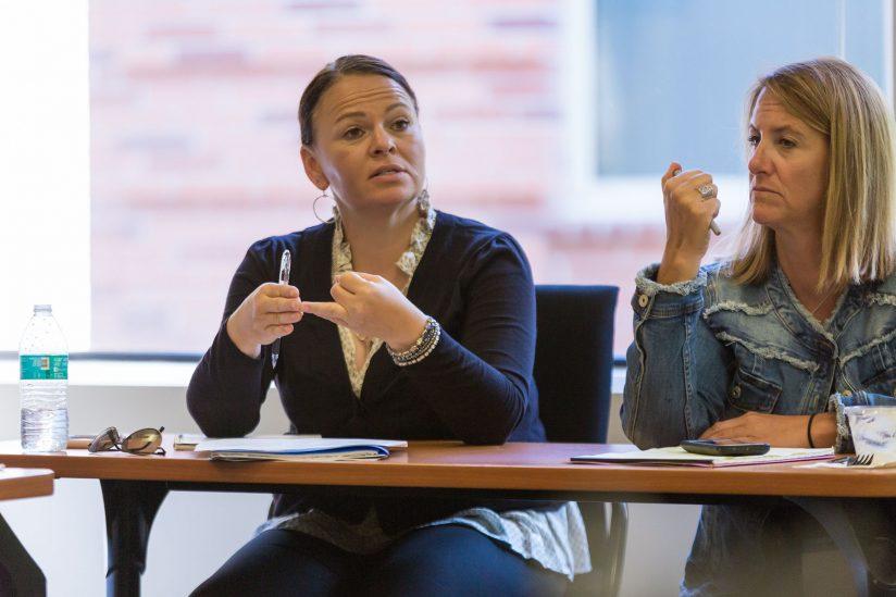 Online doctorate of social work program: Melita Rank and Tina Atherall
