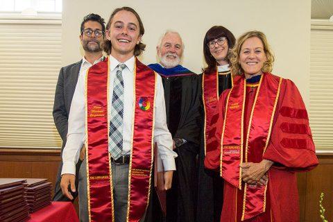 Top USC scholars: Peter Bergmann, USC Sidney Harman Academy for Polymathic Study
