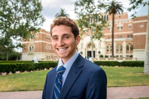 USC 2018 salutatorian Sammy Cohen is a 2018 graduate and class salutatorian.