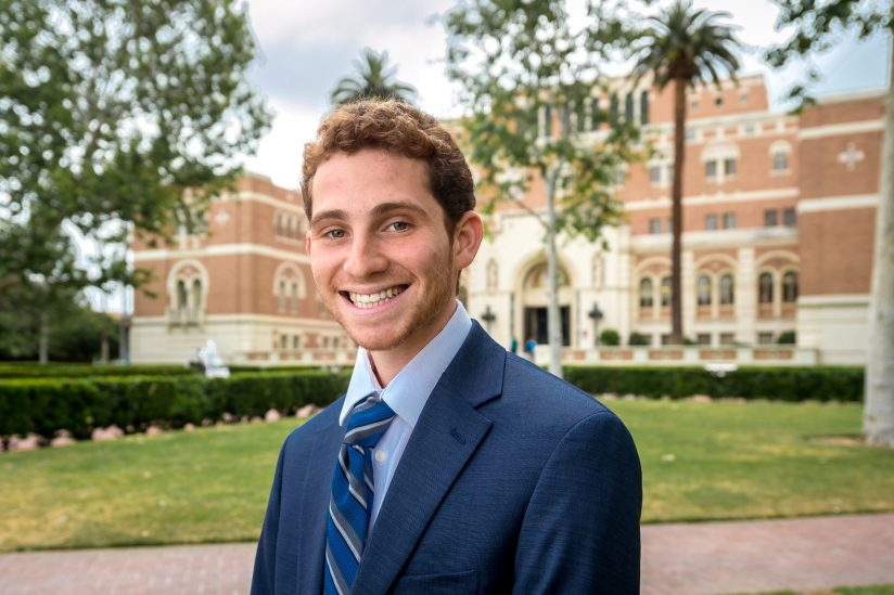 USC 2018 salutatorian Sammy Cohen is a 2018 graduate and class salutatorian.