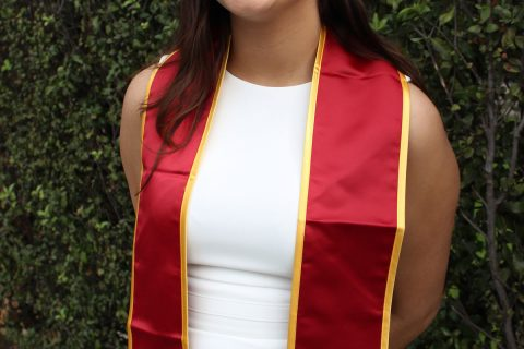 USC first-generation student Milly Rodriguez