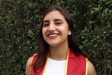 "USC first-generation student Glenda ""Milly"" Rodriguez"