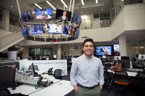Digital journalism at USC: Sebastian Vega at Annenberg Media Center