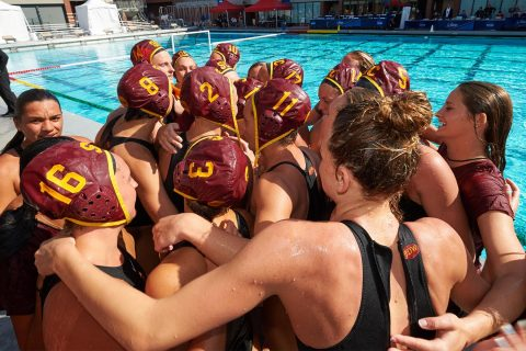 USC women's water polo national championship