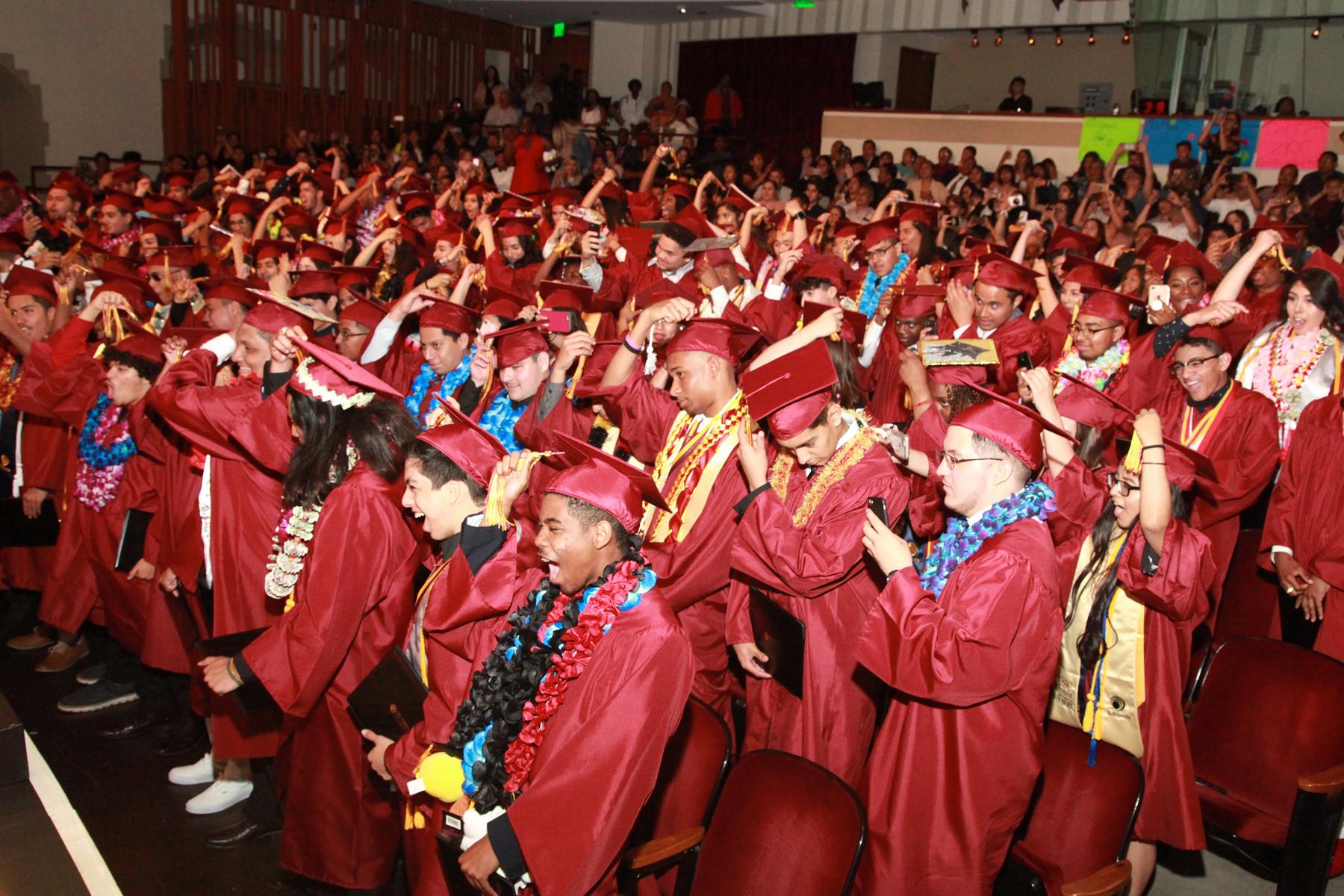 Hybrid High graduation