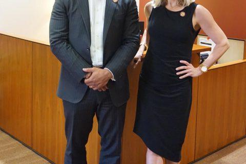 David Kirtman and Jennifer Biehn