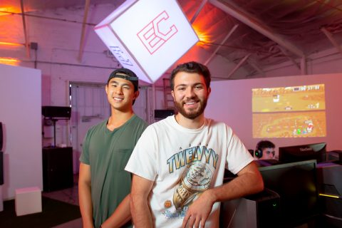 Esports in Los Angeles: Rustin Sotoodeh and Kha Lu of E-Coliseum