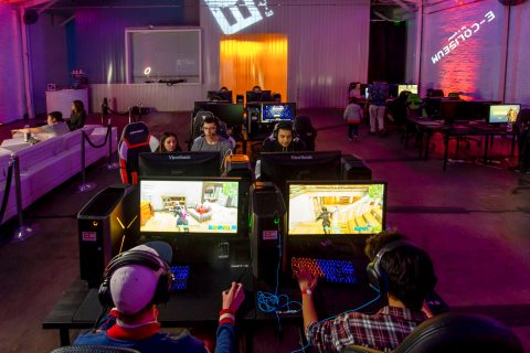 Esports in Los Angeles: E-Coliseum gamers