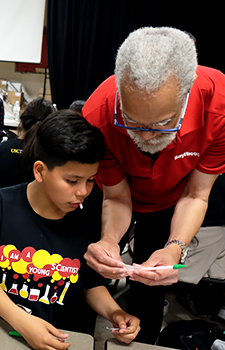 Rocket science for kids: JEP Jeffrey Tate helps Young Scientists program