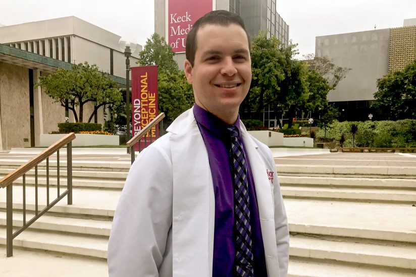 Jonathan Tucci, part of the USC-Caltech MD-PhD Program