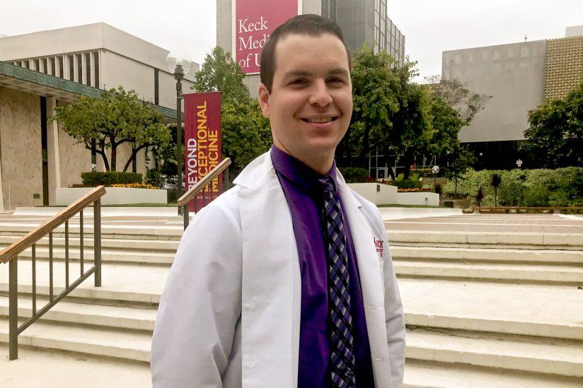 Jonathan Tucci, part of the USC-Caltech MD-PhD Program