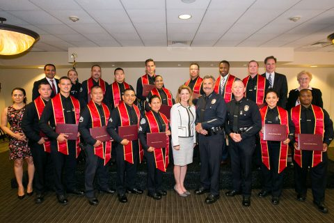 LEAD program students learn community policing strategy
