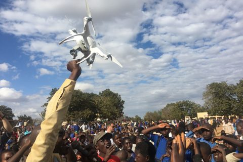 drone for humanitarian aid