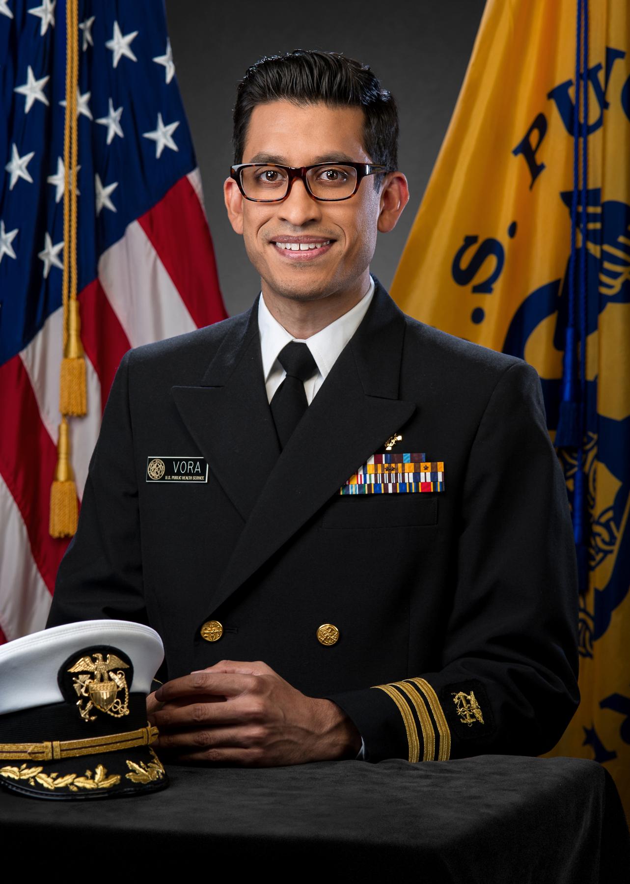 CDC disease detective Neil Vora