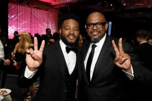 Ryan Coogler and Forest Whitaker
