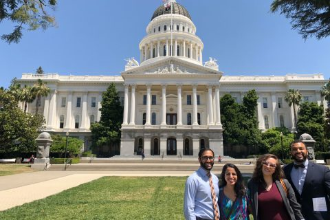 USC medical students meet lawmakers