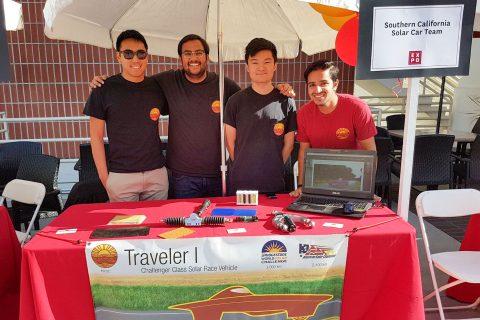 USC solar car team