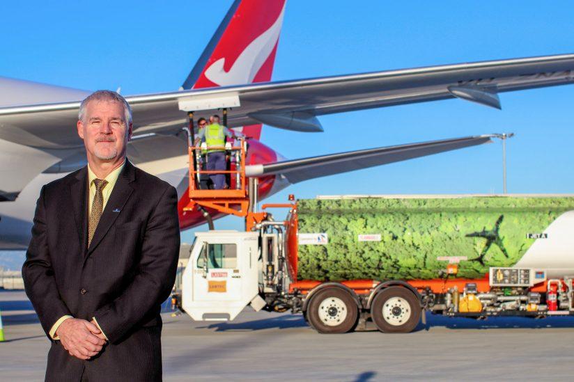 Steve Fabijankski's company makes biojet fuel