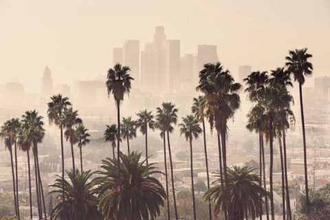 different neighborhoods in Los Angeles have varying levels of pollution