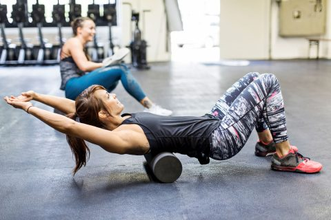 Give yourself a massage: Foam rolling can help massage