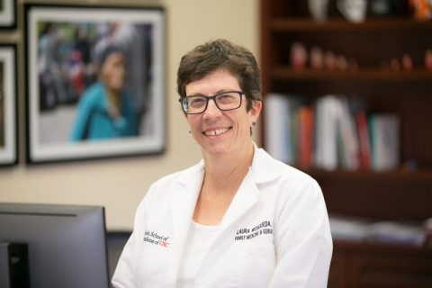 Laura Mosqueda USC medical school dean